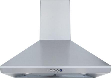 Windster RA14L36SS Wall Mount Range Hood Stainless Steel, Main Image