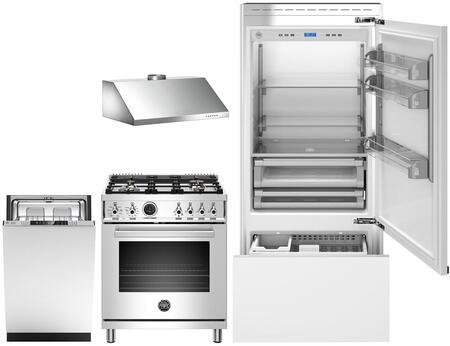 Bertazzoni  1051440 Kitchen Appliance Package Panel Ready, Main image