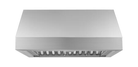 Dacor Heritage HWHP3012S Wall Mount Range Hood Stainless Steel, Front View