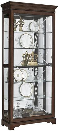 Pulaski P021575 Curio Cabinet Brown, main image