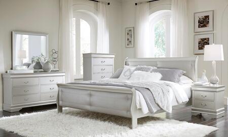 Global Furniture USA Marley 5 Piece King Size Bedroom Set