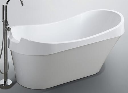 Bellaterra Home Barletta BA6801 Bath Tub White, Main Image
