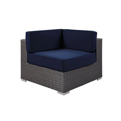 Modway Sojourn EEI1856CHCNAV Patio Chair Blue, Main Image