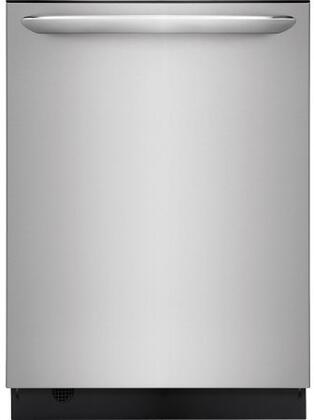 Frigidaire Gallery FGID2476SF Built-In Dishwasher Stainless Steel, Main Image