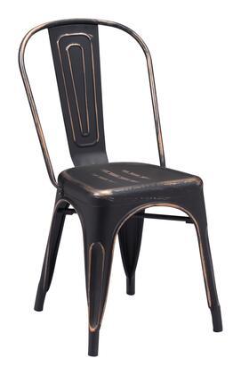 Zuo Elio 108143 Dining Room Chair Black, 108143 1