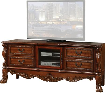 Acme Furniture Dresden 91338 52 in. and Up TV Stand Brown, 1