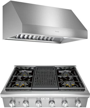 Thermador Professional 1071397 Kitchen Appliance Package Stainless Steel, main image