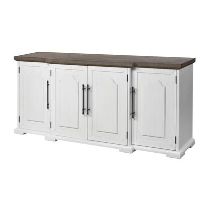 17217 Locksmith Credenza  in Off-white