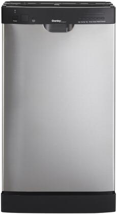 Danby Ddw1802ebls Designer Series 18 Inch Stainless Steel Built In Full Console Dishwasher Appliances Connection