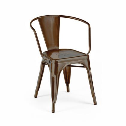 Design Lab MN Dreux LS90012RMT Dining Room Chair Brown, ed1584a4 5b71 4b37 ac68 7f0f2e83f58b