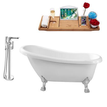 Streamline NH480CH120 Bath Tub, NH480CH 120 1T