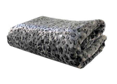 Plutus Brands Snow Leopard PBEZ1665114X120 Sofa Accessory, PBEZ1665