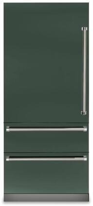 Viking 7 Series VBI7360WLBF Bottom Freezer Refrigerator Green, VBI7360WLBF Fully Integrated Bottom-Freezer Refrigerator