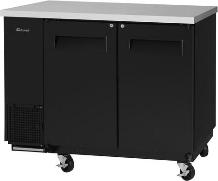 TBB-24-48SB-N6 50″ Super Deluxe Series Narrow Back Bar with 12.2 cu. ft. Capacity  Hydrocarbon Refrigerants  Forced Air Cooling System and LED