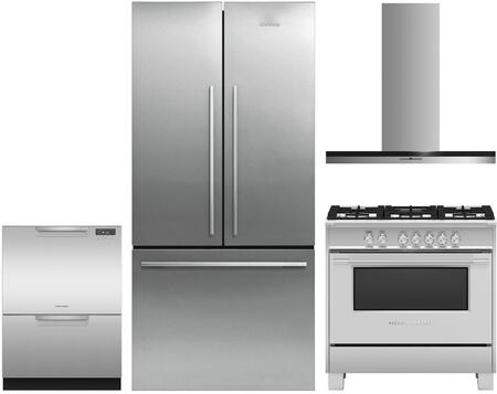 Fisher Paykel 1125353 Kitchen Appliance Package & Bundle Stainless Steel, main image