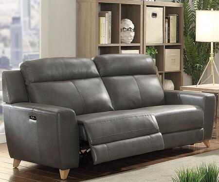 Acme Furniture Cayden 54200 Motion Sofa Gray, 1