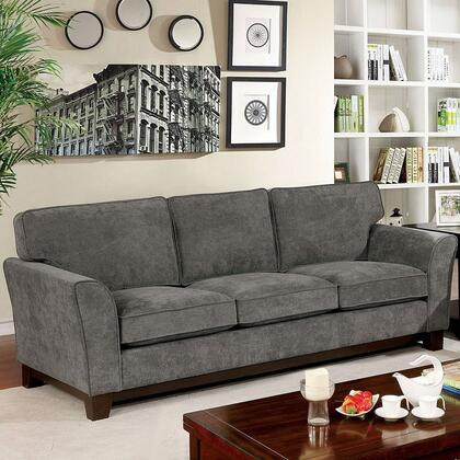 Furniture of America Caldicot CM6954 Stationary Sofa, 1