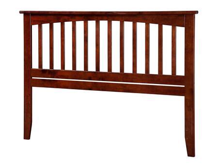 Atlantic Furniture Mission AR287844 Headboard Brown, AR287844 SILO F 180
