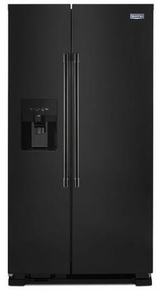 Maytag MSS25C4MG Side-By-Side Refrigerator, 1