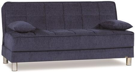 Casamode Smart Fit SMARTFITSOFABEDBLUE04519 Sofa Bed Blue, Main Image