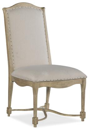 Hooker Furniture CiaoBella 58057531085 Dining Room Chair Beige, Silo Image