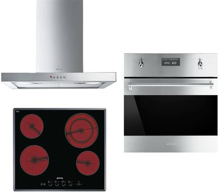 Smeg 890649 Kitchen Appliance Package & Bundle Stainless Steel, 1