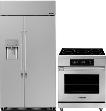 Dacor Heritage 1291013 Kitchen Appliance Package Stainless Steel, Main image