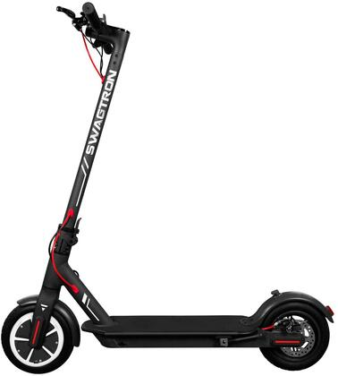 SG5BLK Swagger 5 Elite Electric Smart Scooter with 3 Speeds  LED Display and iOS/Android Companion App in