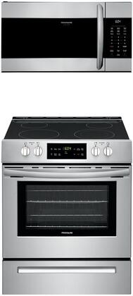 Frigidaire  1358473 Kitchen Appliance Package Stainless Steel, Main image