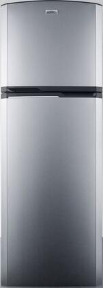 Summit  FF948SSLHD Top Freezer Refrigerator Stainless Steel, FF948SSLHD Front View