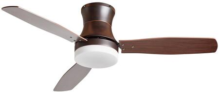 CF6000 48″ Modern Ceiling Fan with LED Lamp  Reversible Motor & Blades and 3 Speeds in Oil