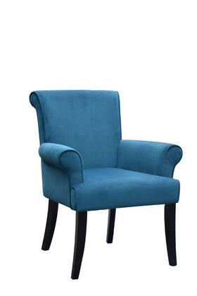Linon 36261DBLU01U Living Room Chair, Image 4