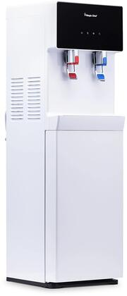 MCWD40BW White Bottom Loading Water Dispenser  Hot and Cold
