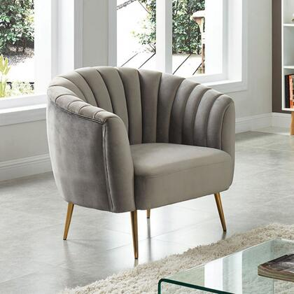 Furniture of America Dionne CM5100GYCH Living Room Chair Gray, CM5100GY-CH Main