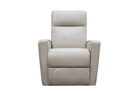 Whiteline Giselle RL1438PLGRY Recliner Chair Gray, RL1438P-LGRY