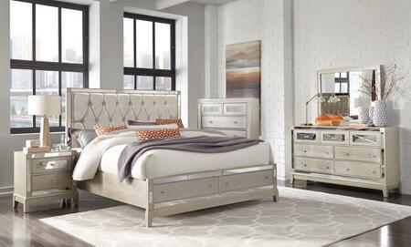 Global Furniture USA Mirror MIRRORCHAMPKBSTORAGESET Bedroom Set Beige, Main Image