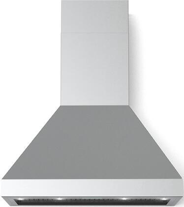 Verona  VECHW30GSS Wall Mount Range Hood Stainless Steel, 30 inch chimney wall