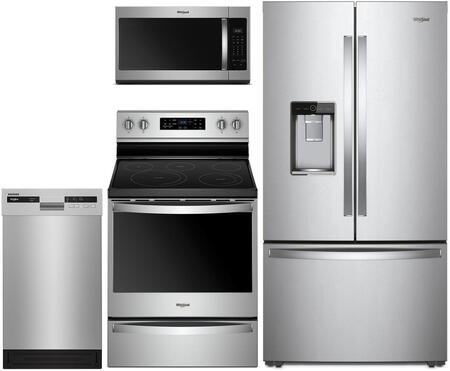 Whirlpool  1009990 Kitchen Appliance Package Stainless Steel, main image