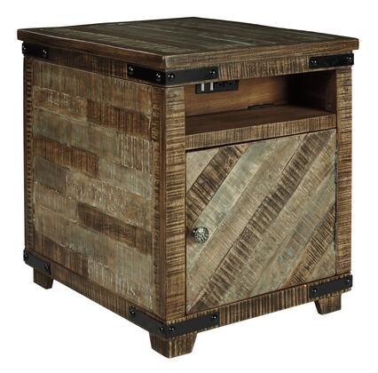 Signature Design by Ashley Cordayne T8497 End Table Brown, Main Image