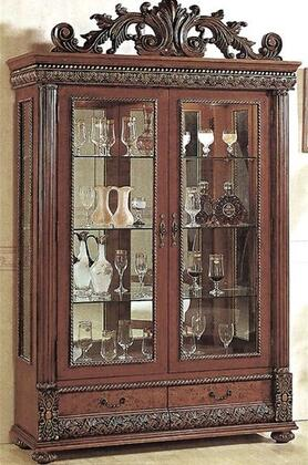 Myco Furniture Bella 8428CR Curio Cabinet, 1