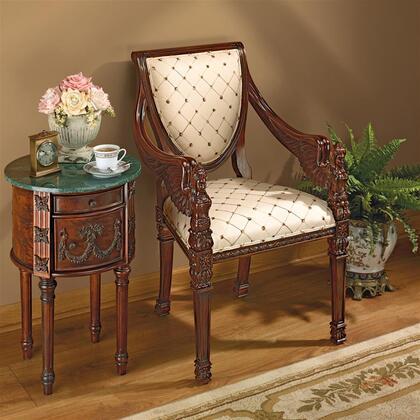 Design Toscano  AF51292 Accent Chair , AF51292 1
