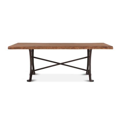 Blayne Collection ZWBADT94R Dining Table in Brown