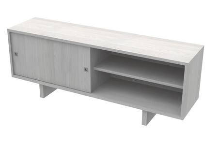 Ideaz International 20620AG 52 in. and Up TV Stand Gray, Main Image