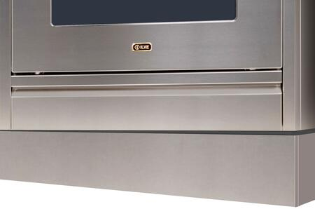 Ilve APZ150140I Toe Kick Stainless Steel, Stainless Steel toe Kick