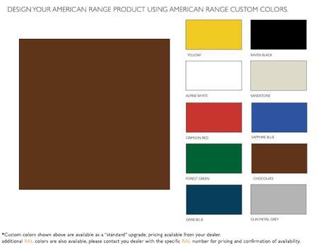 American Range  ARR60CKC Color Option , 1
