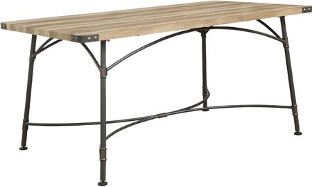 Acme Furniture Itzel 72080 Dining Room Table Brown, Dining Table