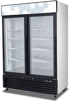 Migali Competitor C49RMHC Display and Merchandising Refrigerator Black, Main Image