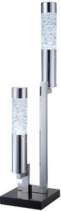 Acme Furniture Cici 40129 Table Lamp Silver, 1