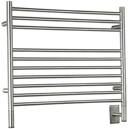 """Jeeves Collection KSP 30"""" Towel Warmer with 10 Horizontal Bars  Liquid-Filled Warming System and 512 - 597 BTUs in"""