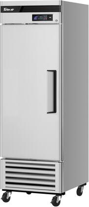 TSF-23SD-N-L 27″ Super Deluxe Series Left Hinged Solid Door Bottom Mount Reach-In Freezer with 19.03 cu. ft. Capacity  Self-Cleaning Condenser and